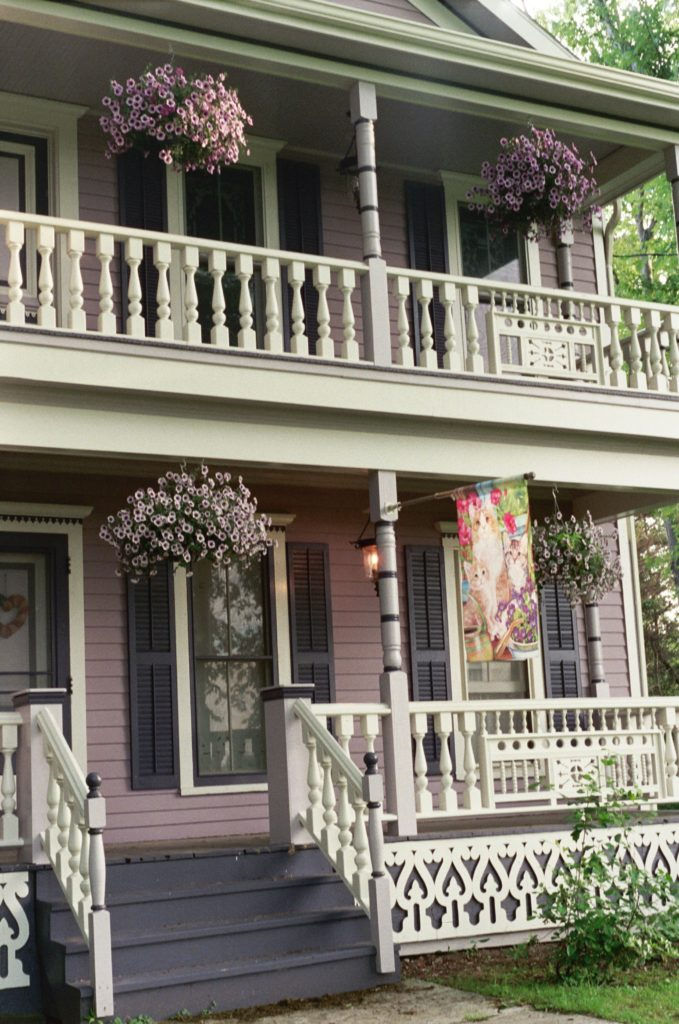 Ornate Victorian Porch Products. Detailed Exterior Millwork