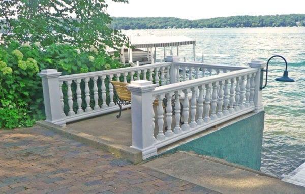 Lake Geneva, WI Waterfront Railing Restoration