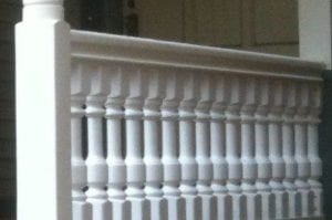 Finished Porch Spindles in Chicago, IL