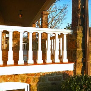 New replacement custom porch balusters