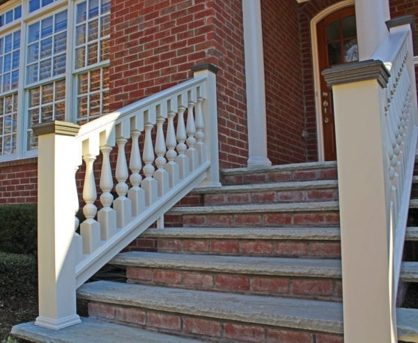Revival Porch Spindles, Victorian Railing, and Round Columns