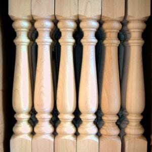 Custom matching spindles ready to ship