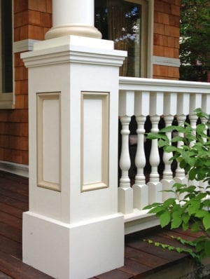 Synthetic Newel Posts