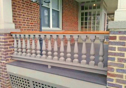 Revival Turned Porch Balusters