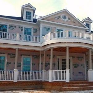 2 story porch railing