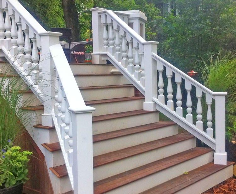 6 Cedar Porch Newel Post For Exterior Railings Balustrades
