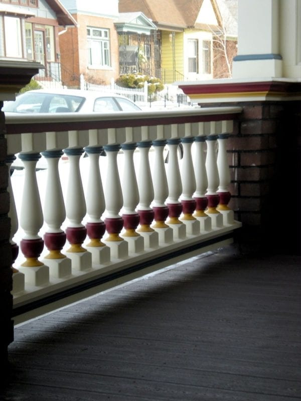Revival porch spindles
