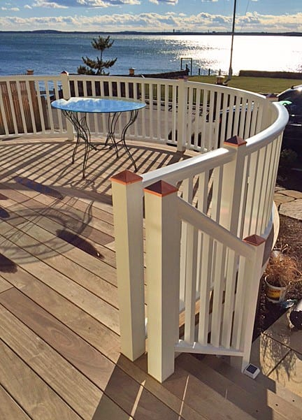 Curved Porch Railing: the Ultimate in Exterior ...