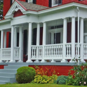 Traditional Polyurethane Porch Railing and Balusters, Pennsylvania