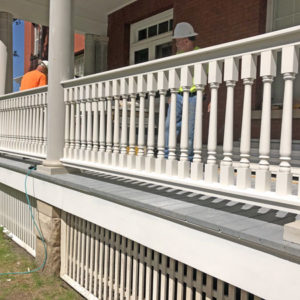Porch Baluster Replacement