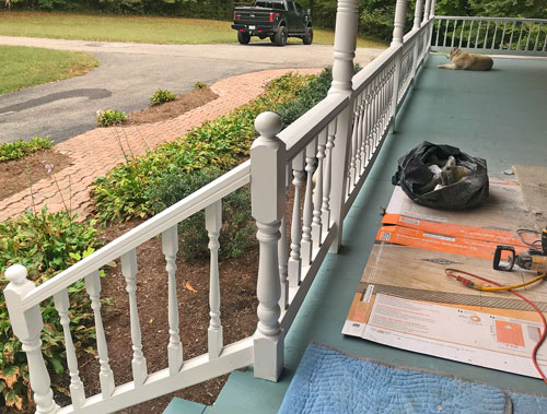 Front Porch Balusters