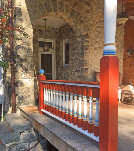 Painted Porch Balusters